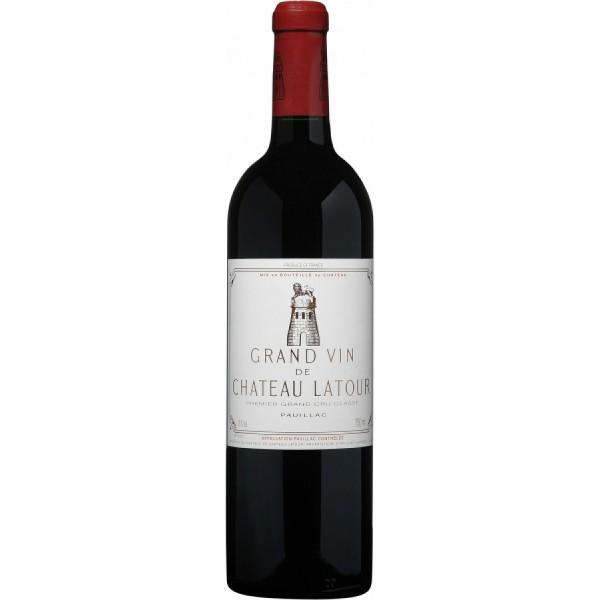 Вино Chateau Latour Pauillac AOC 1-er Grand Cru Classe 2005 0.75 л