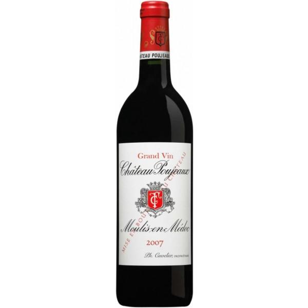 Вино Chateau Poujeaux Moulis en Medoc 2000 0.75 л