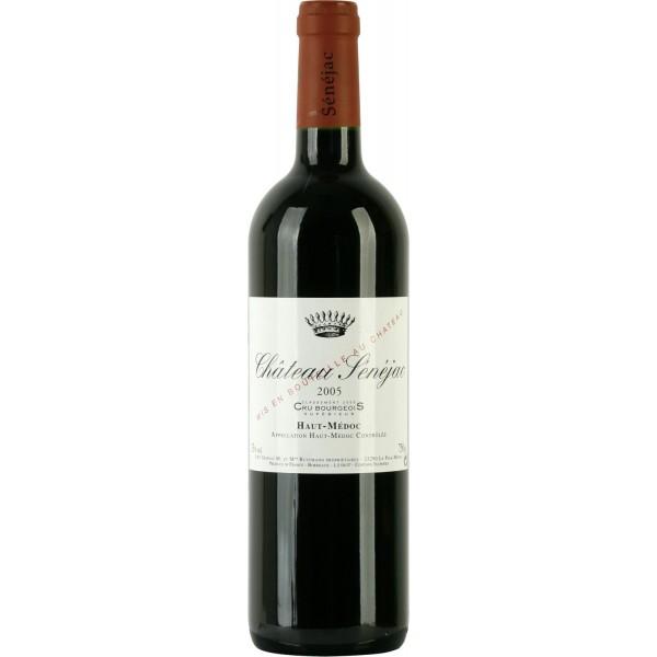 Вино Chateau Senejac Cru Bourgeois Superieur 2007 0.75 л