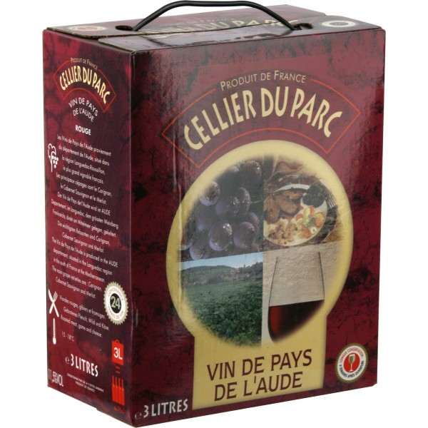 Вино Cellier du Parc Aude BiB 3 л