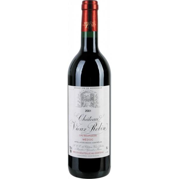 Вино Chateau Vieux Robin Medoc Cru Bourgeois 2007 0.75 л