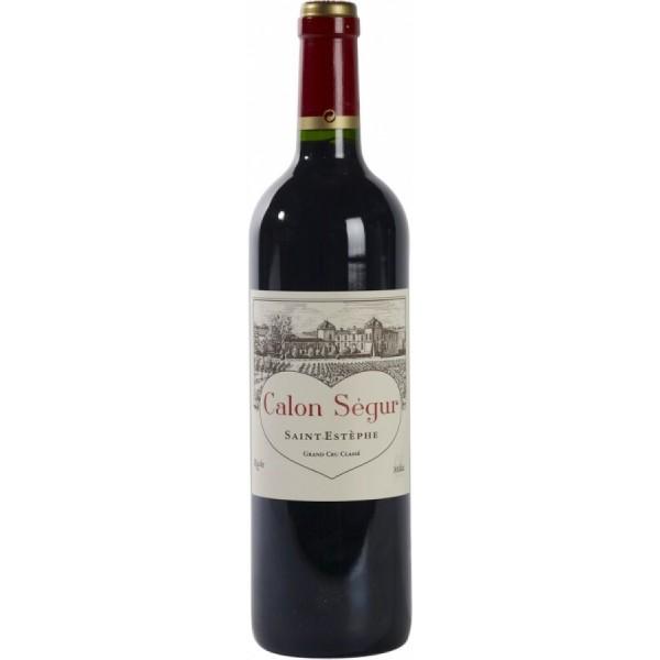 Вино Chateau Calon Segur Saint-Estephe Grand Cru Classe`96 1996 0.75 л
