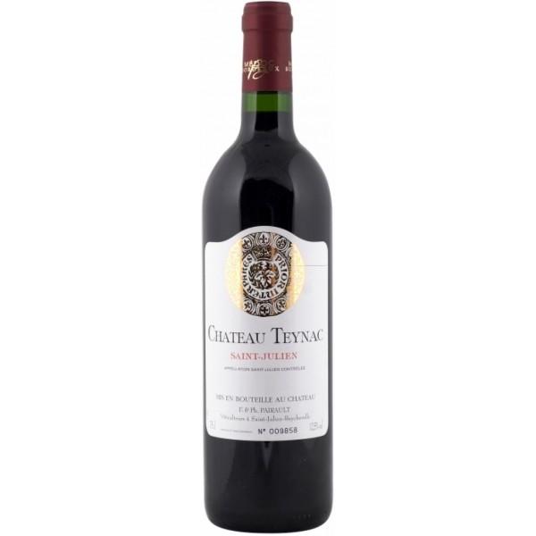 Вино Chateau Teynac Saint-Julien`08 2008 0.75 л