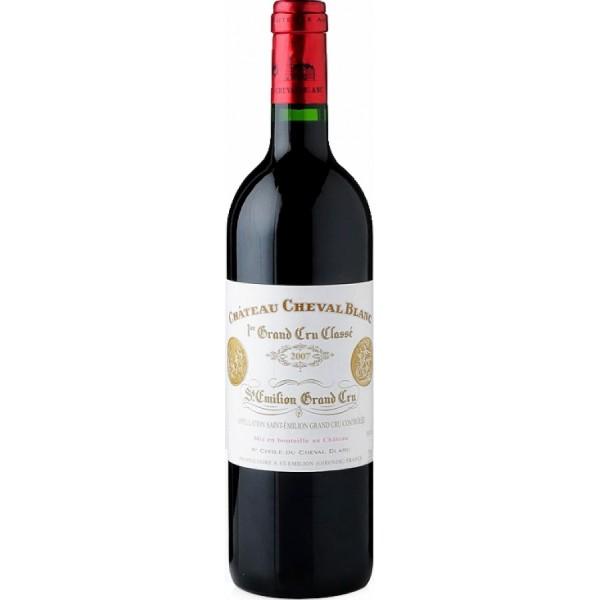 Вино Chateau Cheval Blanc, St-Emilion AOC 1-er Grand Cru Classe 1988 0.75 л