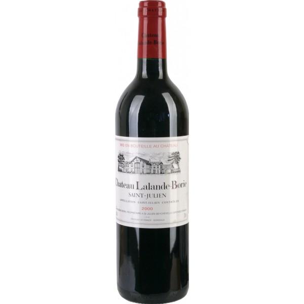 Вино Chateau Lalande Borie Saint Julien 2000 0.75 л