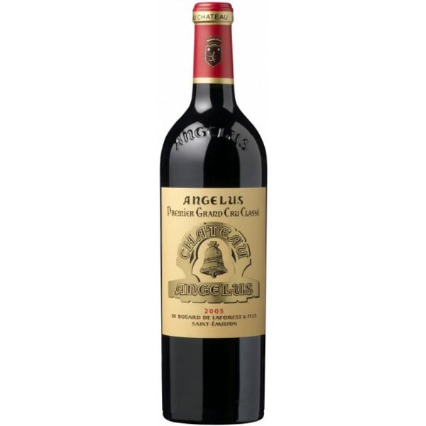 Вино Chateau Angelus Saint-Emilion 1er Grand Cru Classe`01 2001 0.75 л