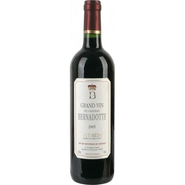 Вино Chateau Bernadotte Haut-Medoc`05 2005 0.75 л