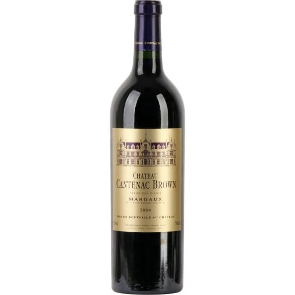 Вино Chateau Cantenac Brown 2004 0.75 л