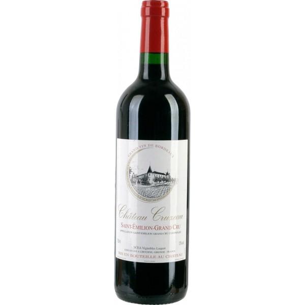Вино Chateau Cruzeau Saint-Emilion-Grand Cru`11 2011 0.75 л