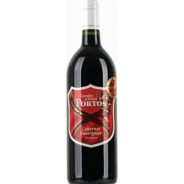Вино Cabernet Sauvignon Moelleux Portos 0.75 л