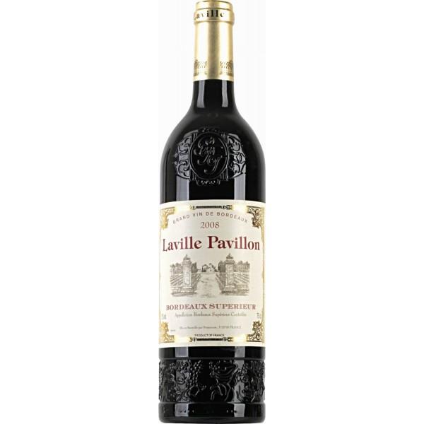 Вино Laville Pavillon Bordeaux Superieur 2008 0.75 л