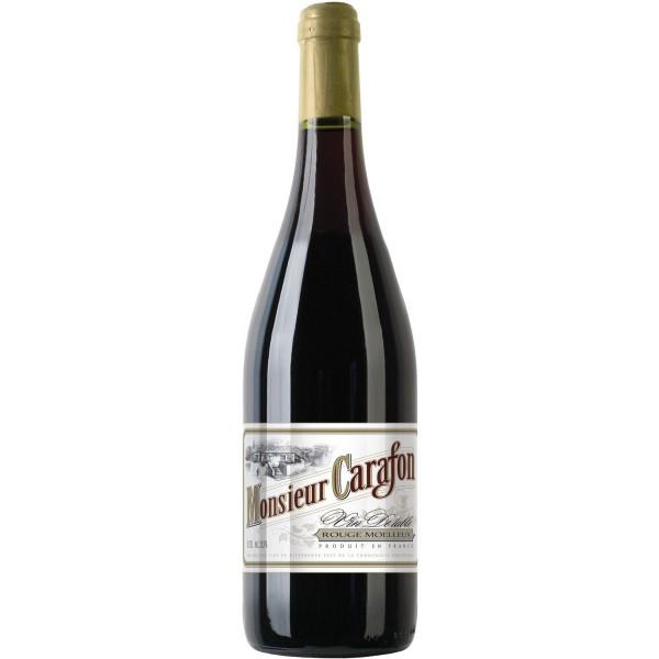 Вино Rouge Moelleux Monsieur Carafon 0.75 л