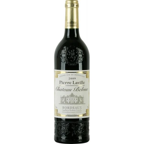 Вино Chateau Belvue Bordeaux Pierre Laville 2008 0.75 л