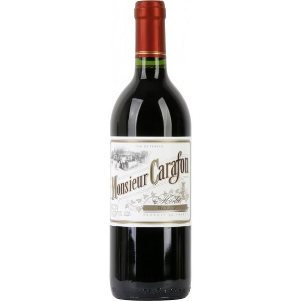 Вино Merlot Monsieur Carafon 0.75 л