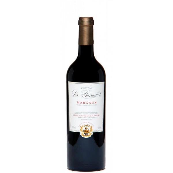 Вино Chateau Les Barraillots Margaux 2011 0.75 л