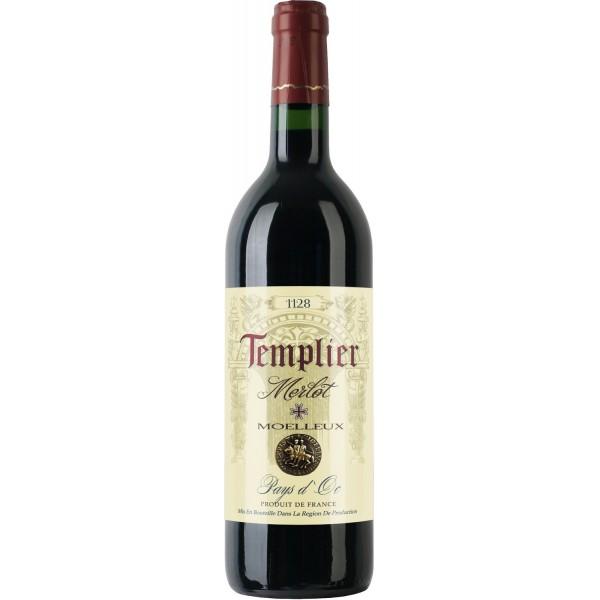 Вино Merlot Moelleux Pays d`Oc. Templier 0.75 л