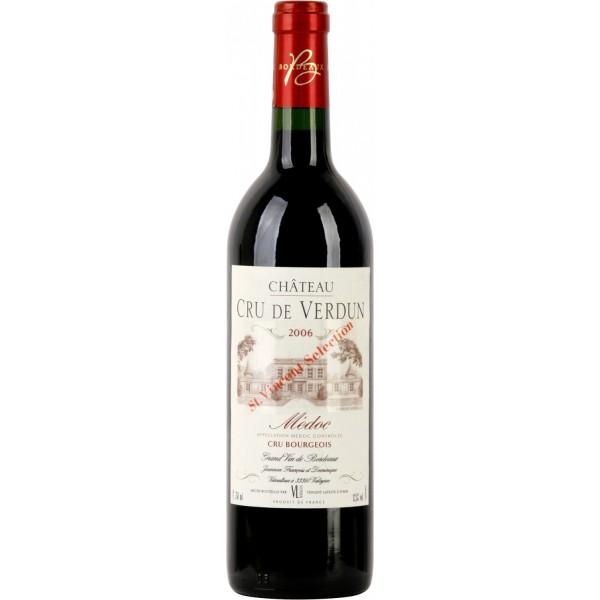 Вино Chateau Cru de Verdun Medoc Cru Bourgeois Saint Vincent Selection 2006 0.75 л