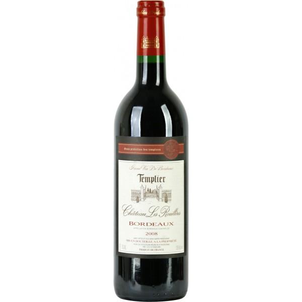 Вино Chateau les Rouilleres Bordeaux Templier 0.75 л
