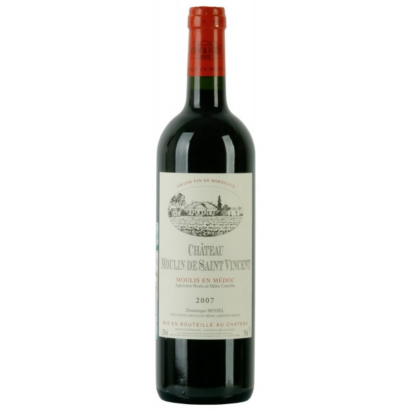 Вино Chateau Moulin de Saint Vincent Moulis en Medoc 0.75 л