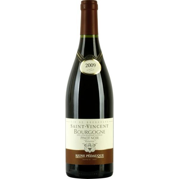 Вино Bourgogne Pinot Noir Reserve Reine Pedauque 2011 0.75 л