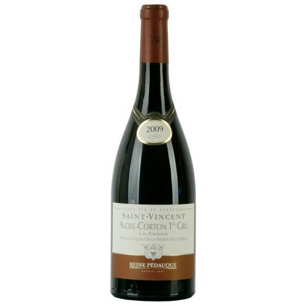 Вино Aloxе Corton 1er Cru Reine Pedauque Saint Vincent 0.75 л
