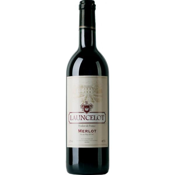 Вино Merlot Pays d`Oc Launcelot 0.75 л