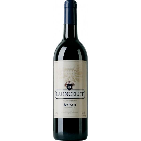 Вино Syrah Pays d`Oc Launcelot 0.75 л