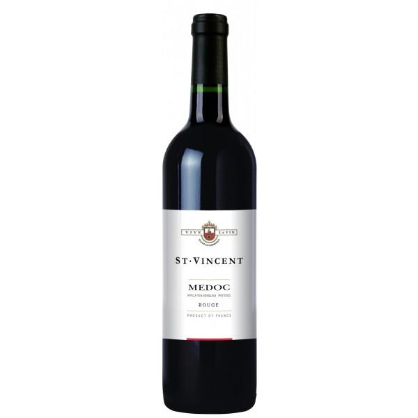 Вино Medoc Saint Vincent 2010 0.75 л
