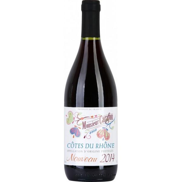Вино Cotes du Rhone Nouveau Monsieur Carafon 0.75 л