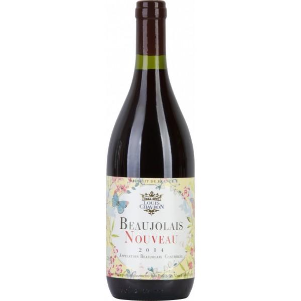 Вино Beaujolais Nouveau Louis Chavron 0.75 л