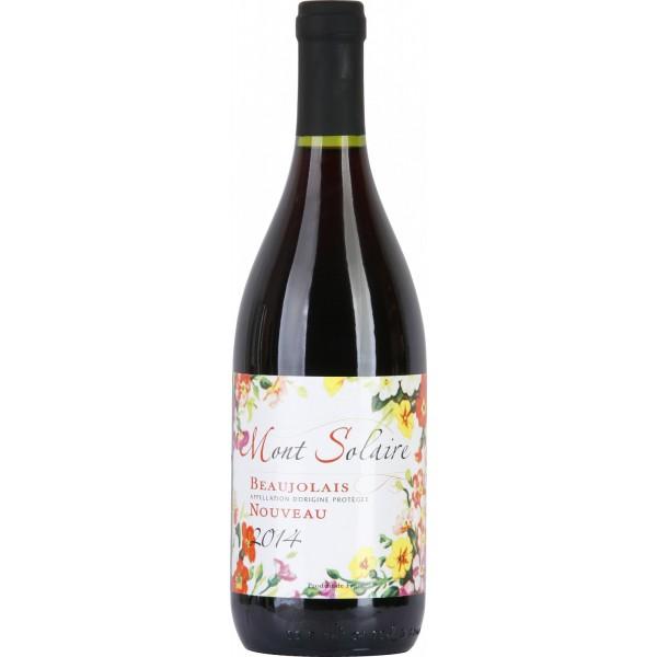 Вино Beaujolais Nouveau Mont Solaire Rouge 0.75 л