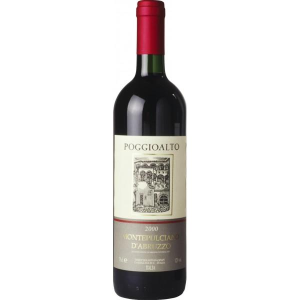 Вино Montepulciano d`Abruzzo Poggioalto 0.75 л
