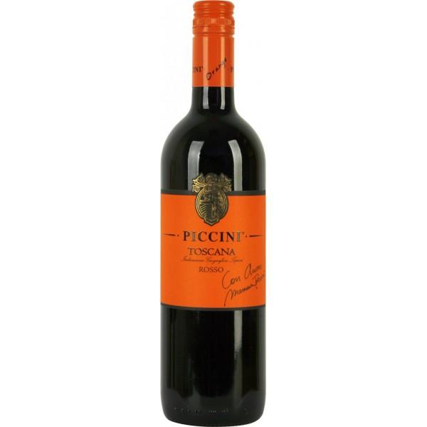 Вино Rosso Toscana Piccini 2018 0.75 л