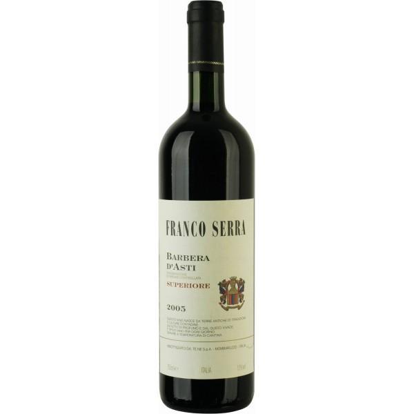 Вино Barbera d`Asti Superiore Franco Serra 2012 0.75 л