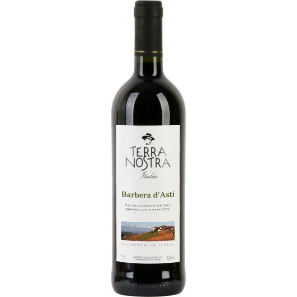 Вино Barbera d`Asti Terra Nostra 0.75 л