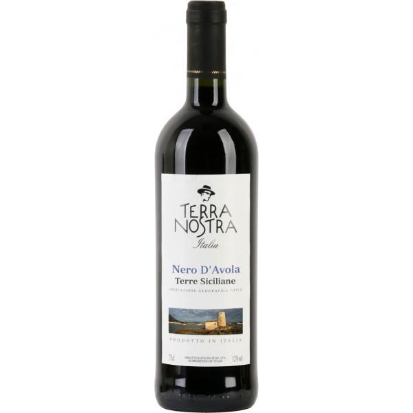 Вино Nero d`Avola Terre Siciliane Terra Nostra 0.75 л
