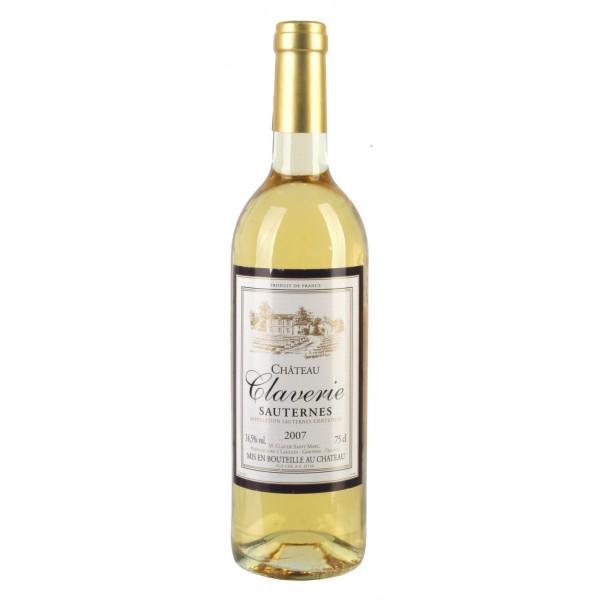 Вино Chateau Claverie Sauternes 2006 0.75 л