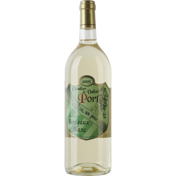 Вино Blanc Cavalier du Vallon Portos 1 л