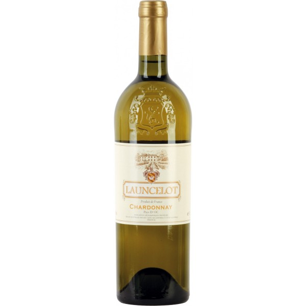 Вино Chardonnay Pays d`Oc Launcelot