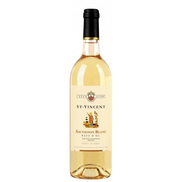 Вино Sauvignon Blanc Pays d`Oc Saint Vincent 0.75 л