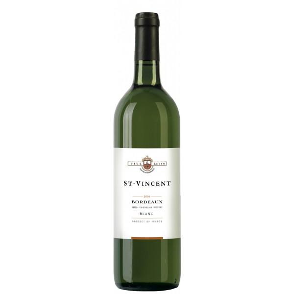 Вино Bordeaux Blanc Saint Vincent 0.75 л