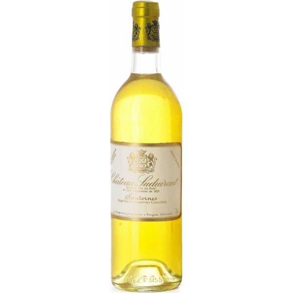 Вино Chateau Suduiraut Sauternes 1er Cru Classe`00 2000 0.75 л