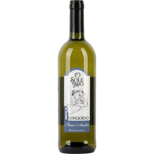Вино O Sole Mio Buongiorno Amabile 0.75 л