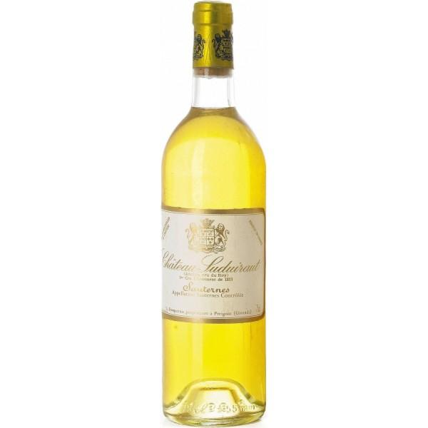 Вино Chateau Suduiraut Sauternes Premier Cru Classe 2002 0.75 л