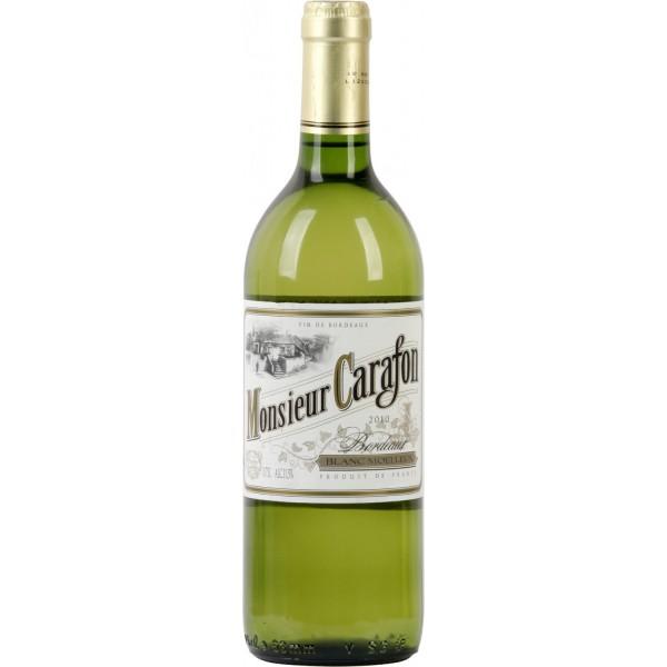 Вино Bordeaux Blanc Moelleux Monsieur Carafon 0.75 л