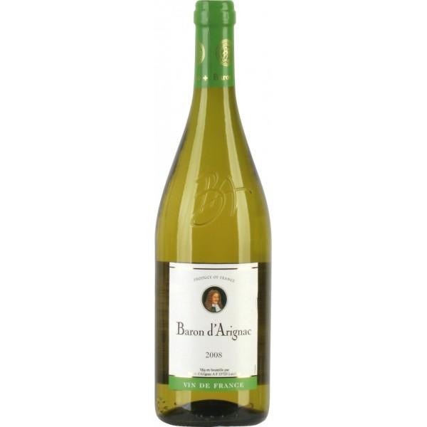 Вино Baron d`Arignac Pays d`Herault 2008 0.75 л