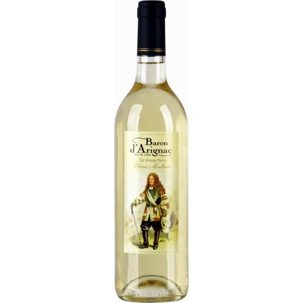 Вино Baron d`Arignac La Petite Terre Blanc Moelleux 0.75 л