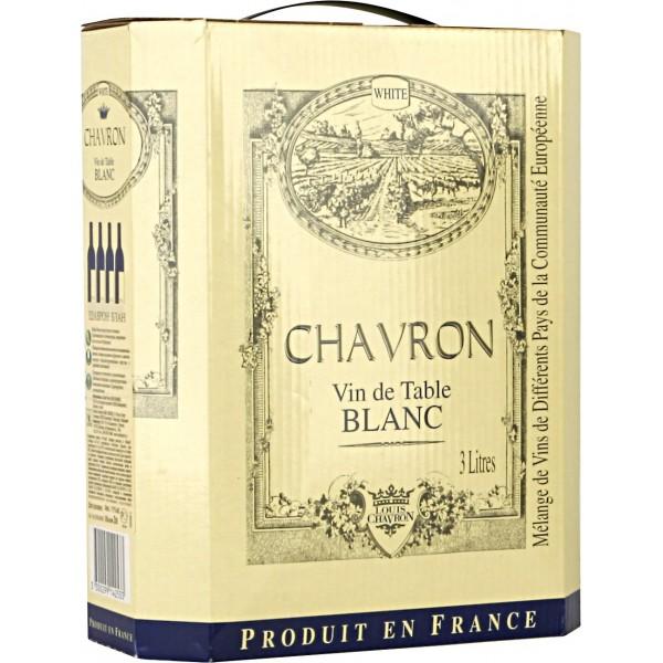 Вино Chavron Blanc 3 л