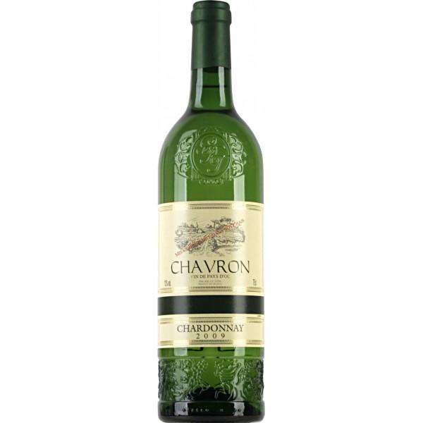 Вино Chardonnay Pays d`Oc Chavron 2009 0.75 л