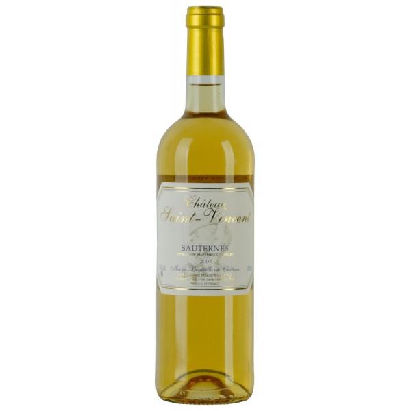 Вино Chateau Saint Vincent Sauternes 2007 0.75 л
